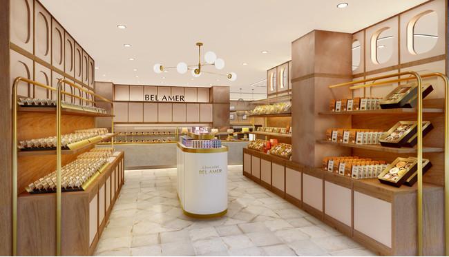 【ベルアメール】「ショコラ ベルアメール」に「カフェ ベルアメール」を併設した新たな路面店を、自由が丘エリアに4月中旬オープン!